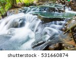 hot spring waterfall at khlong... | Shutterstock . vector #531660874