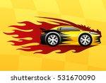 fast car. | Shutterstock .eps vector #531670090