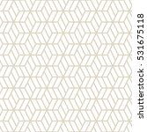hexagonal grid pattern seamless ... | Shutterstock .eps vector #531675118