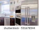 modern  bright  clean  kitchen... | Shutterstock . vector #531678544