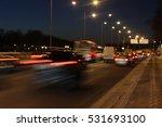road scene | Shutterstock . vector #531693100