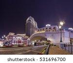 macau  dec 7  beautiful night... | Shutterstock . vector #531696700