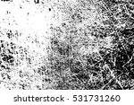 grunge black and white distress ... | Shutterstock . vector #531731260