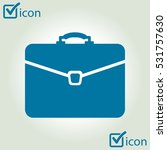 briefcase icon  vector...