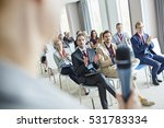 business people applauding for... | Shutterstock . vector #531783334