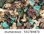 Closeup Image Of Green Pot...