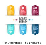 vector arrows infographic ... | Shutterstock .eps vector #531786958