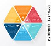 vector circle arrows... | Shutterstock .eps vector #531786994