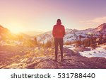 in a hike | Shutterstock . vector #531788440