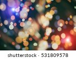 twinkly lights and stars... | Shutterstock . vector #531809578