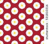 seamless flower pattern vector   Shutterstock .eps vector #531810316