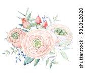 elegant card in vintage... | Shutterstock . vector #531812020