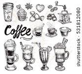 hand drawn sketch illustration... | Shutterstock .eps vector #531812080