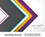 vector of modern abstract...   Shutterstock .eps vector #531812920