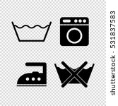 washing  signs   Shutterstock .eps vector #531837583