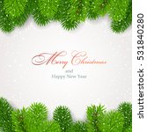 christmas background with... | Shutterstock .eps vector #531840280