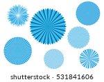 crystallized frozen light... | Shutterstock .eps vector #531841606
