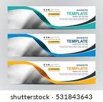 abstract web banner design... | Shutterstock .eps vector #531843643