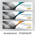 abstract web banner design... | Shutterstock .eps vector #531843649