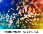 christmas abstract de focused | Shutterstock . vector #531843766