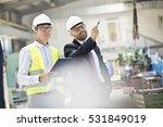 mid adult male supervisors...   Shutterstock . vector #531849019