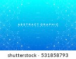 geometric graphic background... | Shutterstock .eps vector #531858793