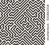 striped seamless geometric... | Shutterstock .eps vector #531862318