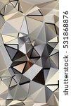 randomly scattered triangles of ... | Shutterstock .eps vector #531868876