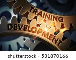 training development on the... | Shutterstock . vector #531870166