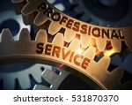 professional service on... | Shutterstock . vector #531870370