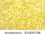 Golden Glitter Heart Shaped...