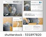 social media posts set.... | Shutterstock .eps vector #531897820