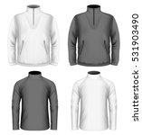 men's fleece sweater and... | Shutterstock .eps vector #531903490