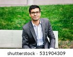 young indian business man... | Shutterstock . vector #531904309