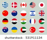 collection of flags of the... | Shutterstock .eps vector #531911134