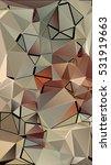 randomly scattered triangles of ... | Shutterstock .eps vector #531919663