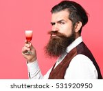 handsome bearded man with long... | Shutterstock . vector #531920950