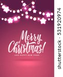 merry christmas and new year... | Shutterstock .eps vector #531920974