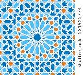 islamic geometric ornaments...   Shutterstock .eps vector #531925774