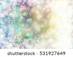 reflections of christmas lights | Shutterstock . vector #531927649
