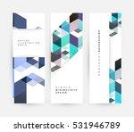 geometric background template... | Shutterstock .eps vector #531946789