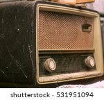 old radio | Shutterstock . vector #531951094