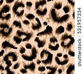 Stylized Leopard Print...