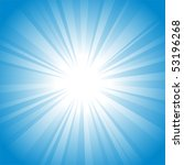 sun vector background | Shutterstock .eps vector #53196268