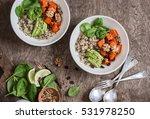 Quinoa And Pumpkin Bowl....