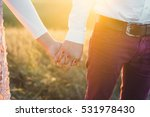 man and woman holding hands.... | Shutterstock . vector #531978430