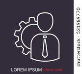 line icon    management  | Shutterstock .eps vector #531989770