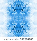 abstract mosaic triangular blue ...   Shutterstock .eps vector #531998980