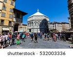 florence  italy   july 17  2016 ... | Shutterstock . vector #532003336