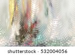 abstract colorful lightning... | Shutterstock . vector #532004056